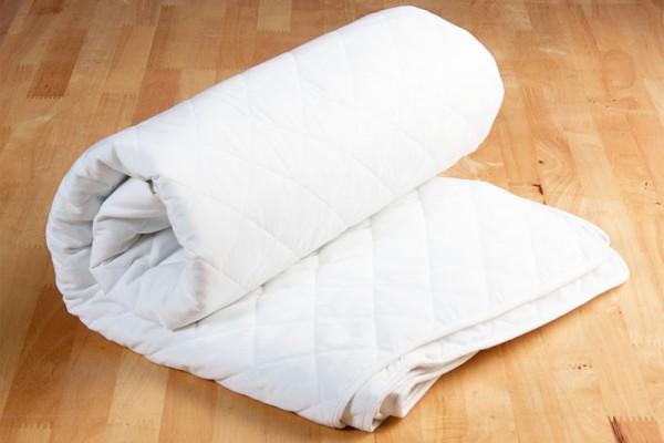 ผ้ารองกันเปื้อนใช้สำหรับปูบนที่นอนก่อนปูผ้าปูเพื่อช่วยกันความสกปรกเลอะลงใส่ที่นอน ซึ่งผ้ากันเปื้อนไซส์จะมียางรัดมุม 4 ด้าน และไซส์standard ที่ขายตามท้องตลาด คือไซส์  -3.5' x 6.5' -5' x 6.5' -6' x 6.5'  ซึ่งทางโรงงานสามารถผลิตได้ทุกไซส์รวมถึงไซส์พิเศษที่นอกเหนือจากที่ท้องตลาดมี